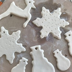 Ceramic Christmas Tree Decorations.Clay Christmas Make Your Own Gifts Decorations The