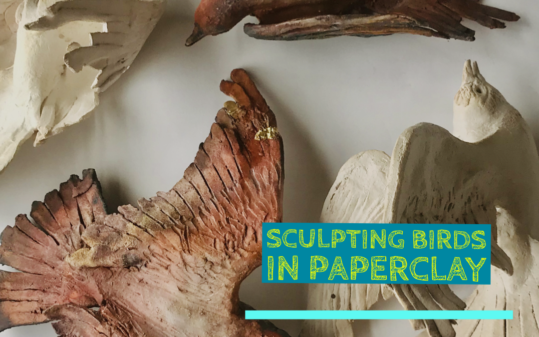 Sculpting Birds with Paper Clay | 2 Days